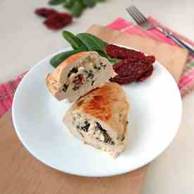 Chicken Stuffed With Spinach, Feta