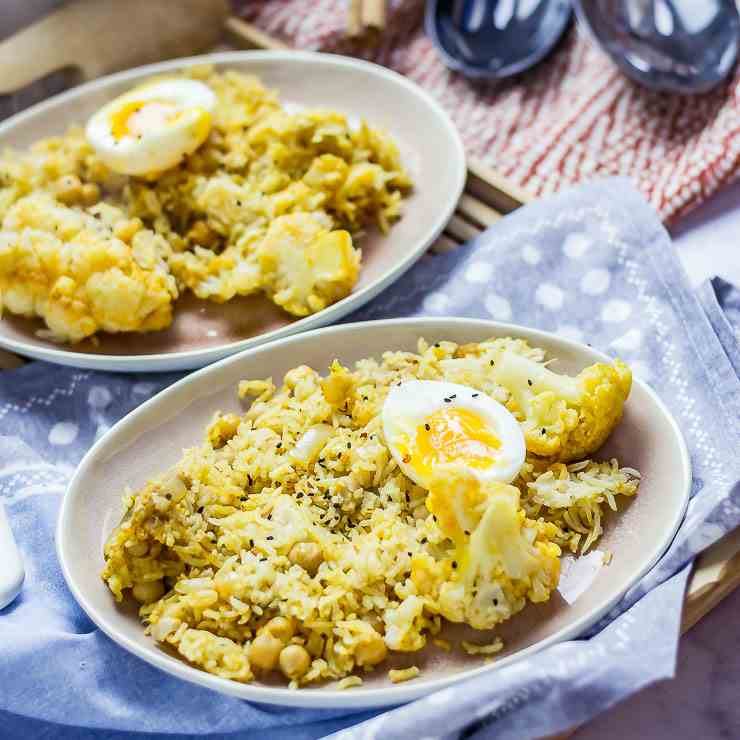 Biryani with Cauliflower - Chickpeas