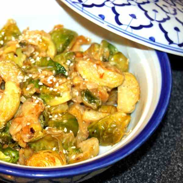 Brussels Sprout with Sesame