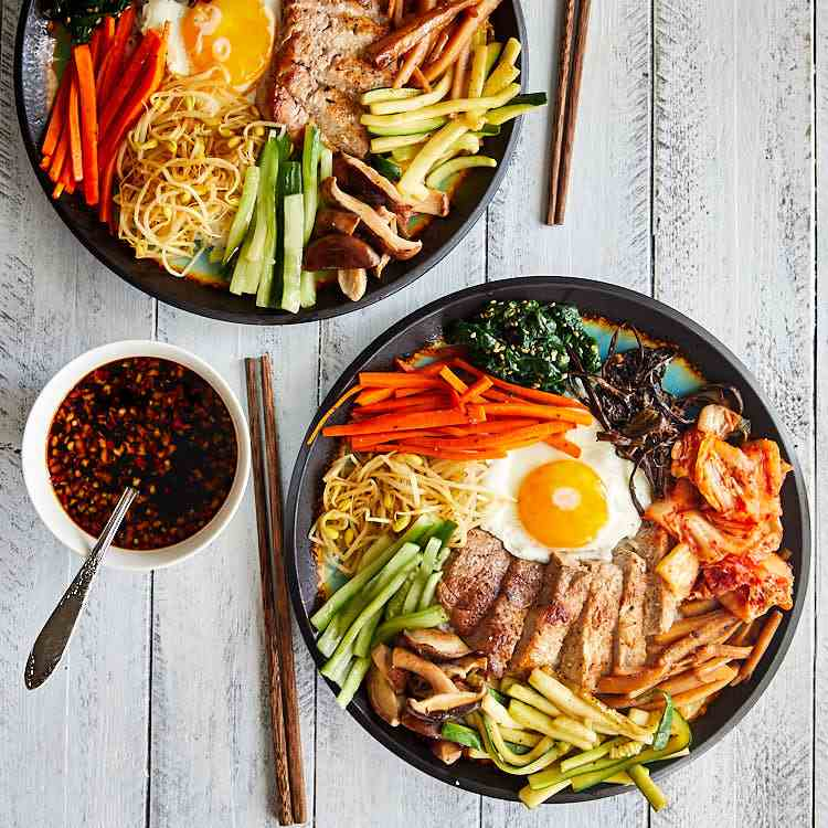 Korean Bibimbap Made Easy