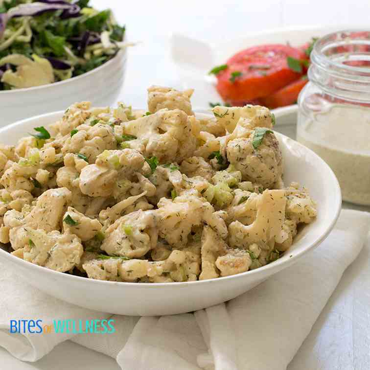 Whole30 Cauliflower Potato Salad