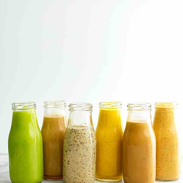 6 Healthy Salad Dressing Recipes