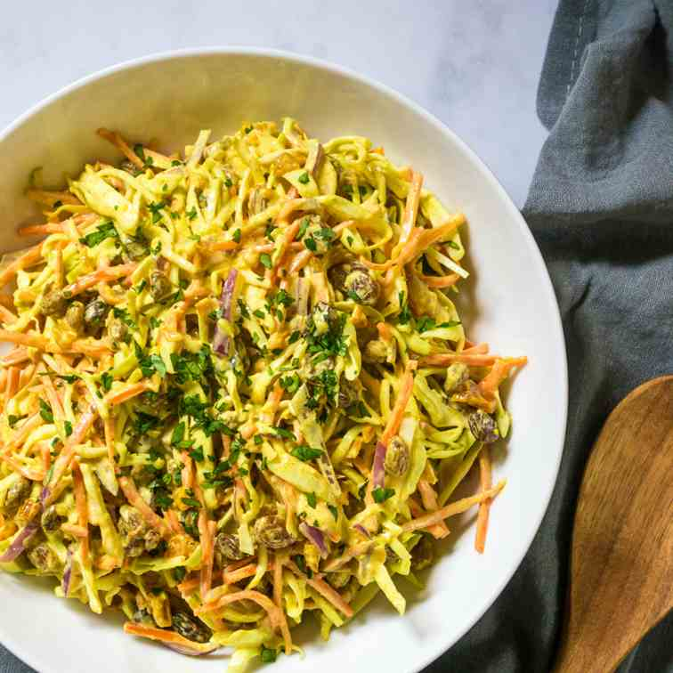 Vegan Coronation Coleslaw