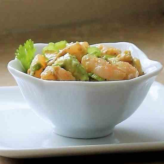 Tangy Shrimp Avocado Salad