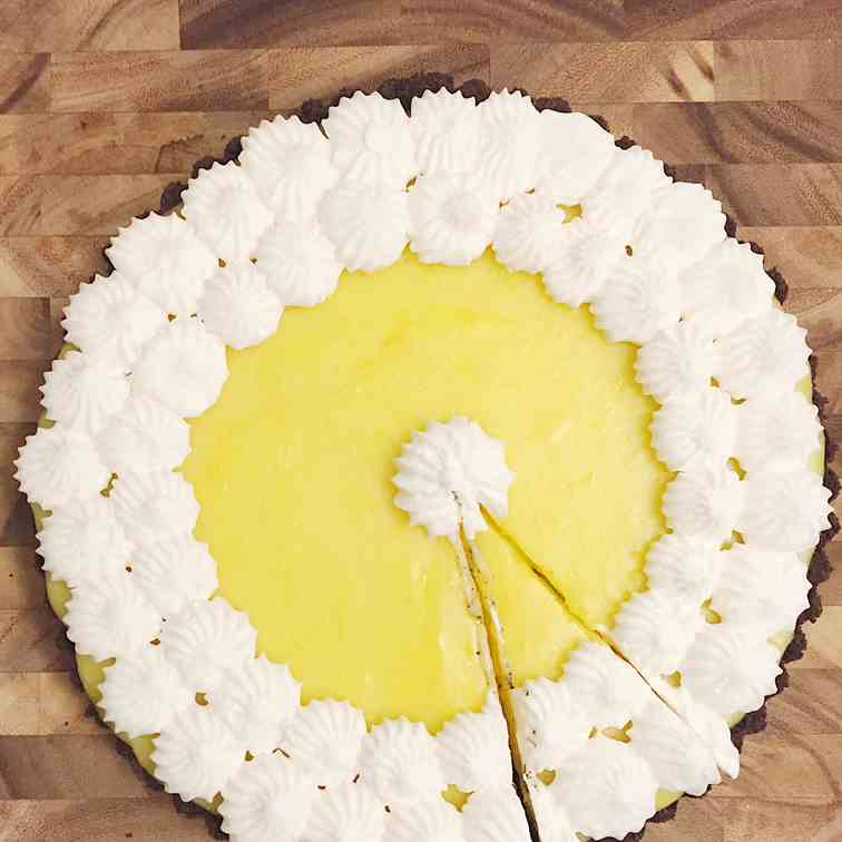 Lemon Oreo Tart