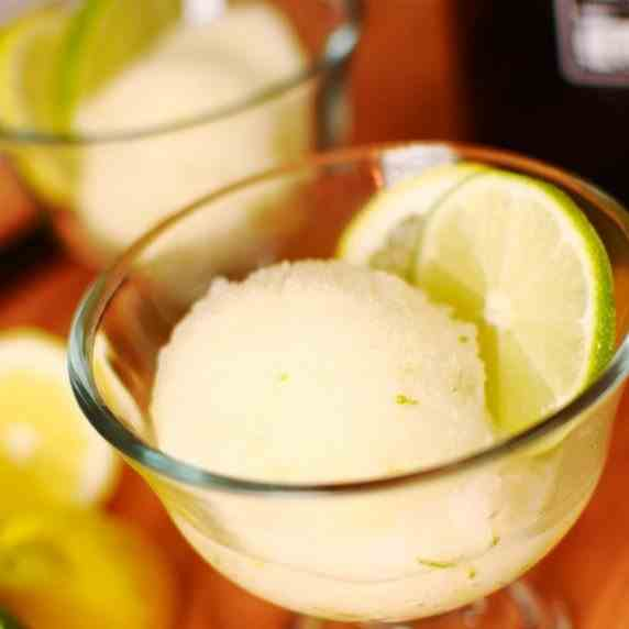 Beer Shandy Sorbet