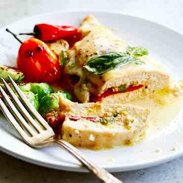 Baked Stuffed Chicken Breast