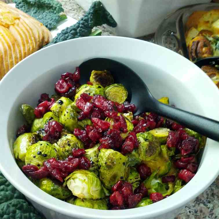 Brussel Sprouts with Balsamic Reduction