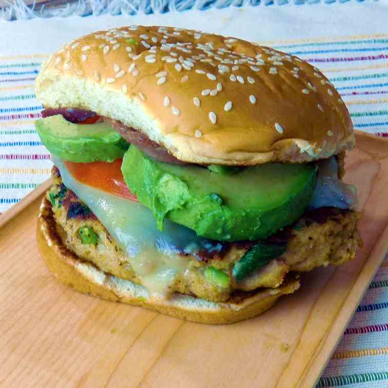 Southwest Chicken Burger