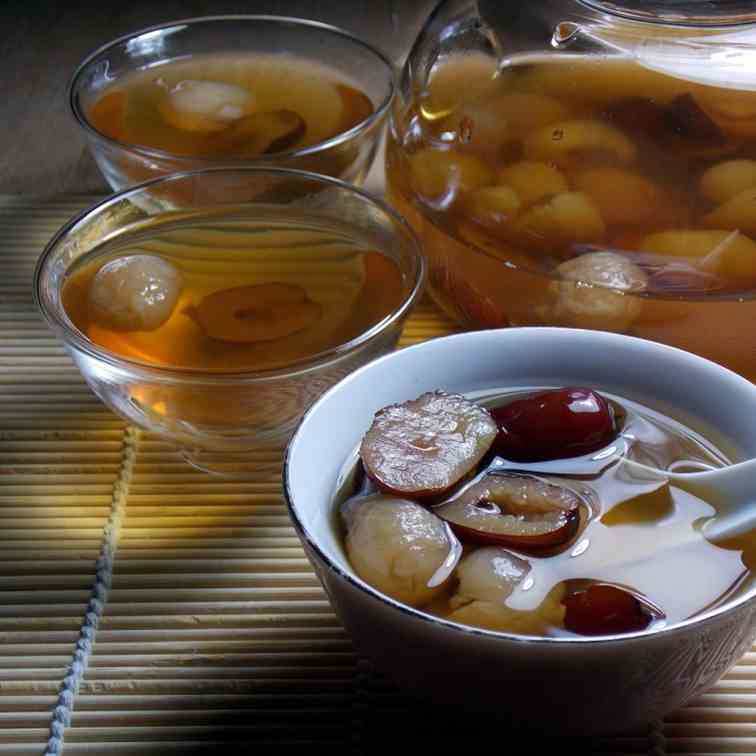 Red Dates and Longan Drink