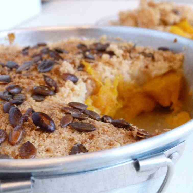 Pumpkin Crumble.