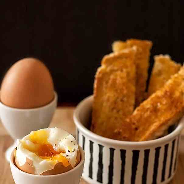 Eggs and Toast Soldiers