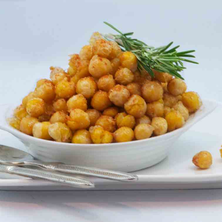 Roasted chickpea garbanzos