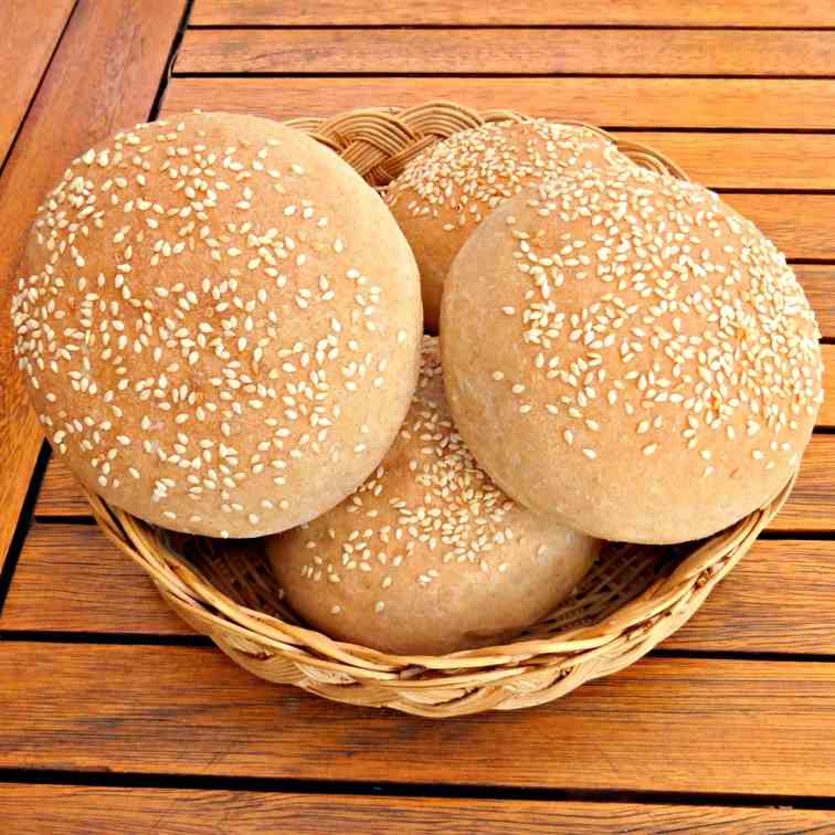 Wholemeal Burger Buns