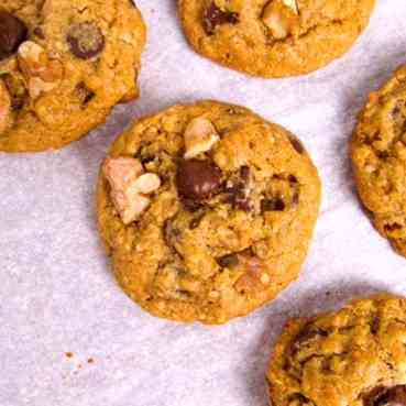 Elevated Chocolate Chip Cookies
