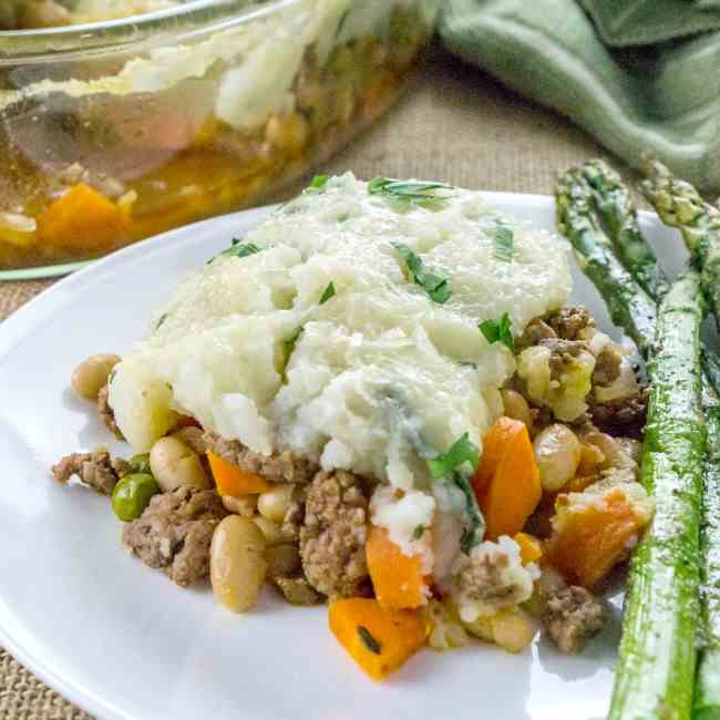 Shepherd's Pie with White Beans