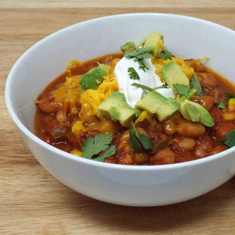 Mexican Vegetarian Chili