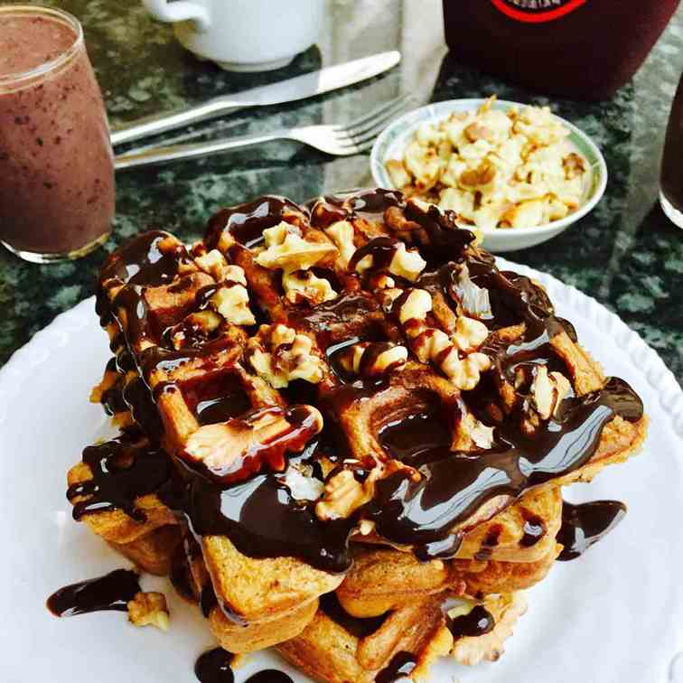 Totally scrumptious waffles