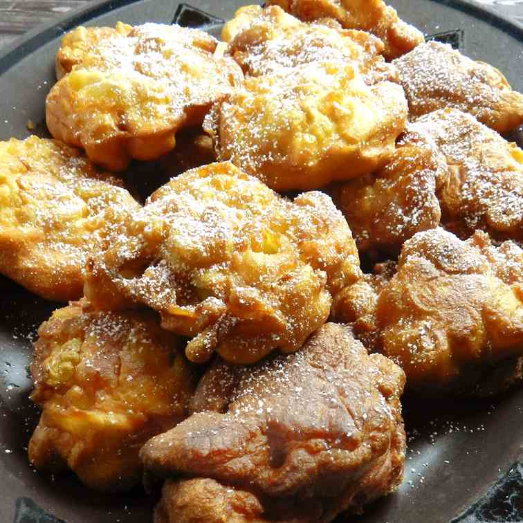 Apple Fritters are a Great Fall Treat