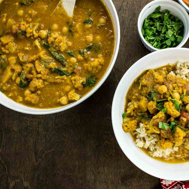 Squash - Vegetable Curry