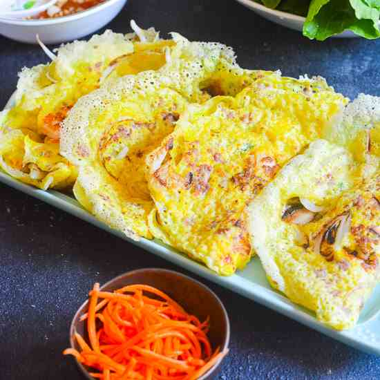 Sizzling Savory Crepe-