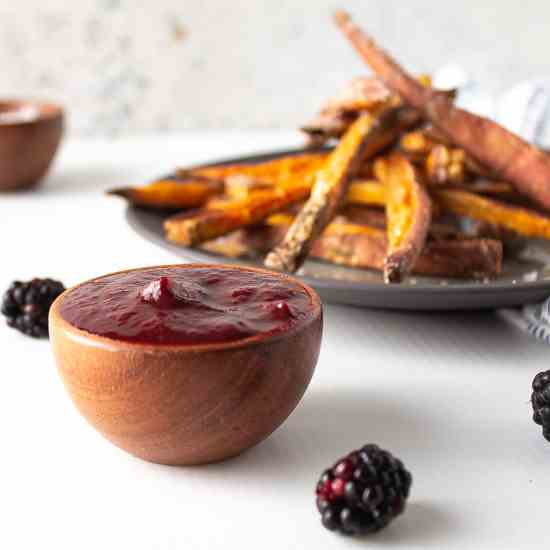 Blackberry Tomato Ketchup