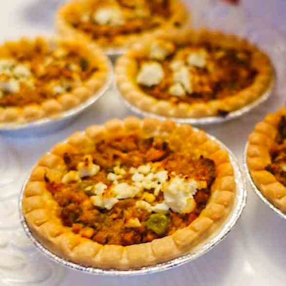 Curried Lamb Tarts