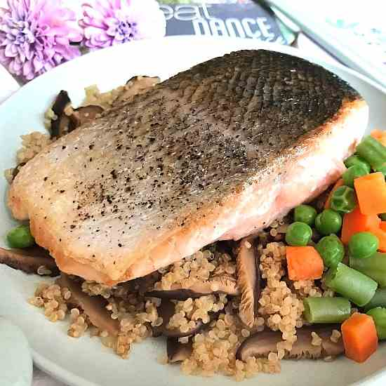 Healthy Sous Vide Salmon