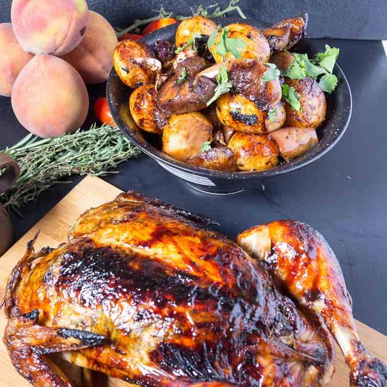 Balsamic Maple Roast Chicken