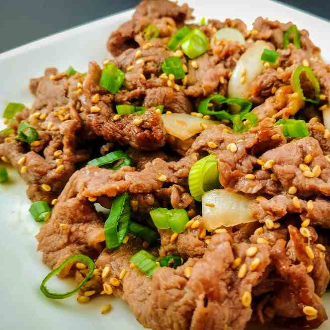 Air Fried Bulgogi Korean Beef