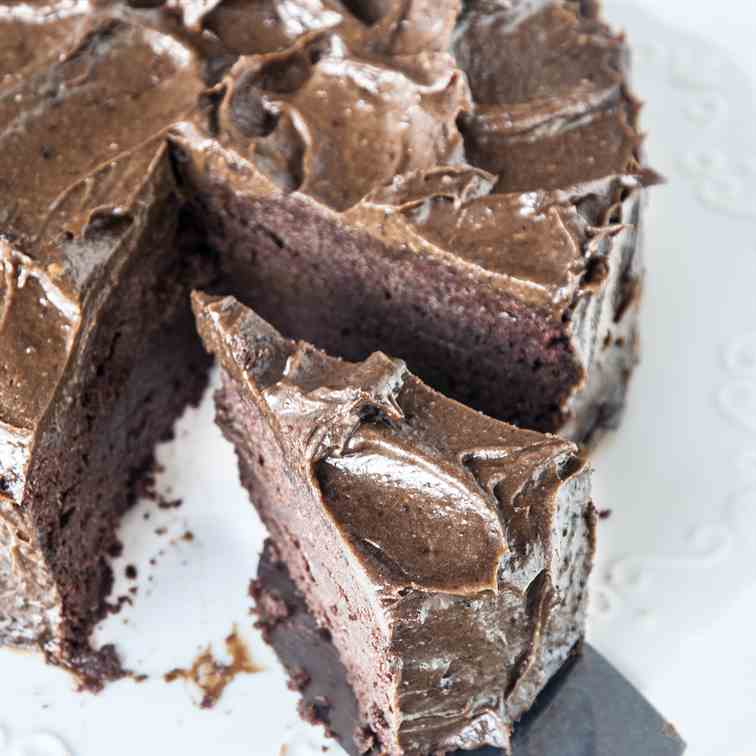 Paleo Chocolate Mud Cake
