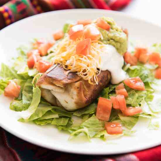 Shredded Beef Chimichangas