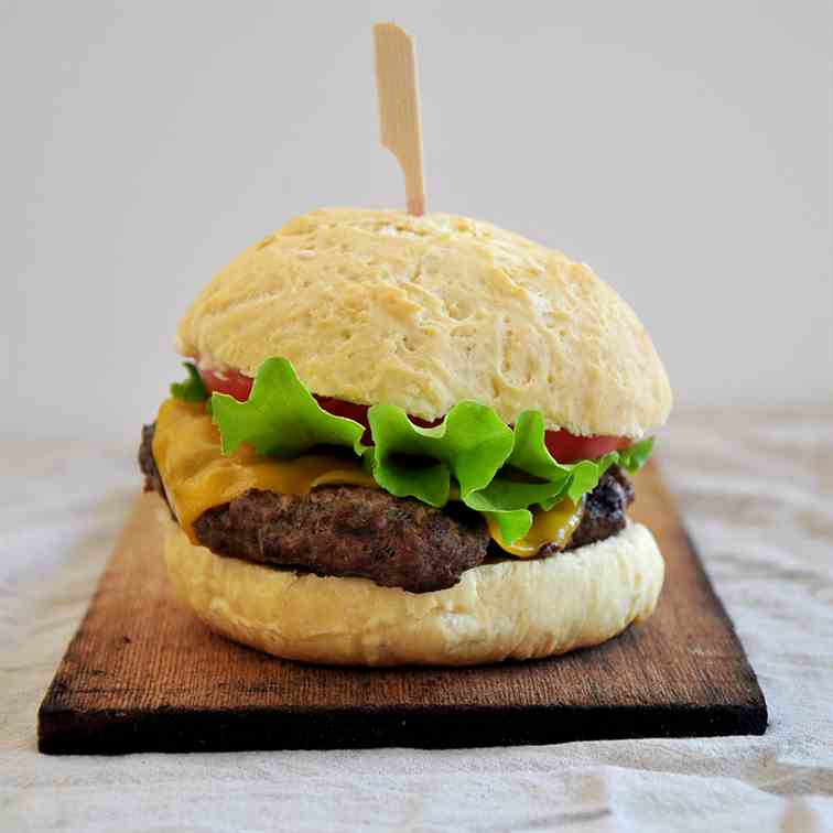The Best Grilled Sirloin Burger