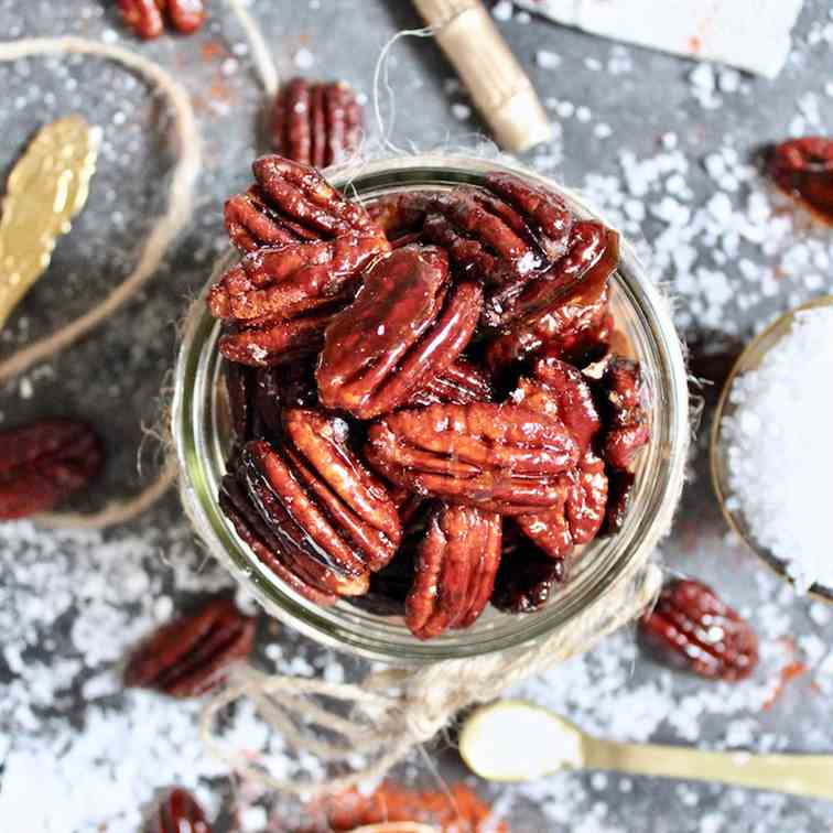 Sweet - Spicy Pecans