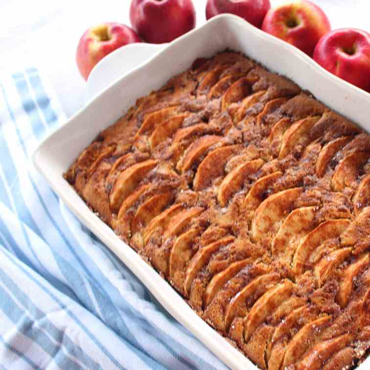 Apple, Walnuts, Honey Cake