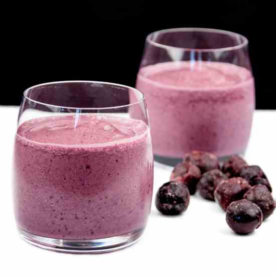 Cherry and Banana Smoothie