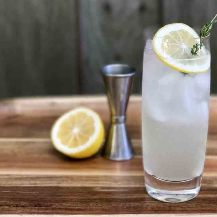 Meyer Lemon Tom Collins