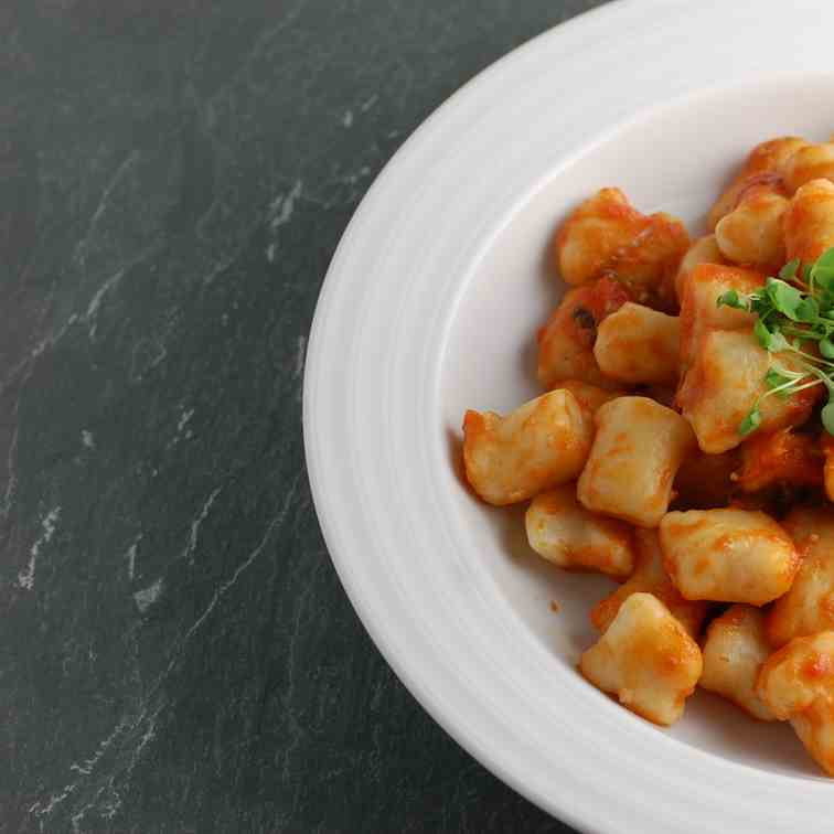 Fresh Made, No-Egg, Vegan Potato Gnocchi