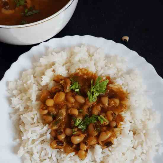 Lobia-Vegan black-eyed  bean curry