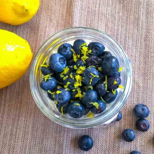 Blueberry Lemon Poppy Seed Overnight Oats