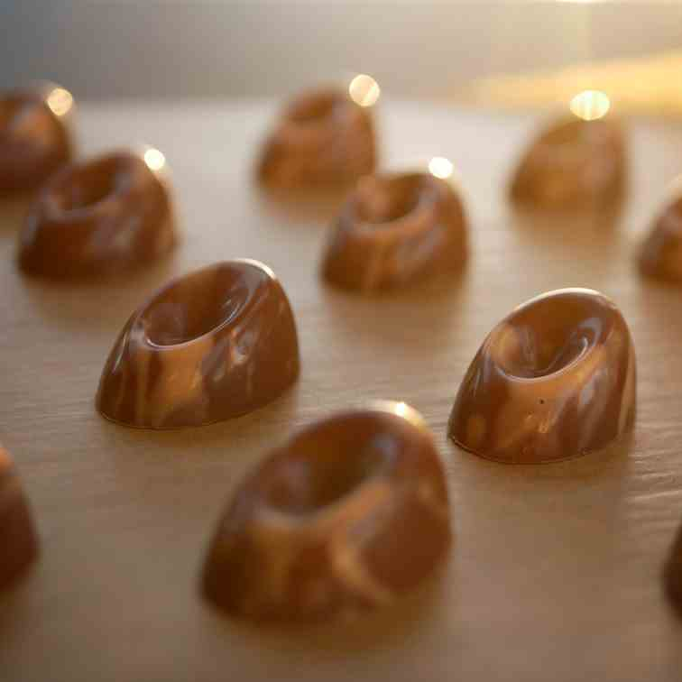 Chocolate Passion Fruit Pralines