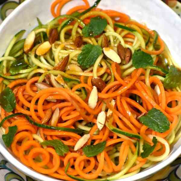 Zucchini Carrot Salad with Catalina