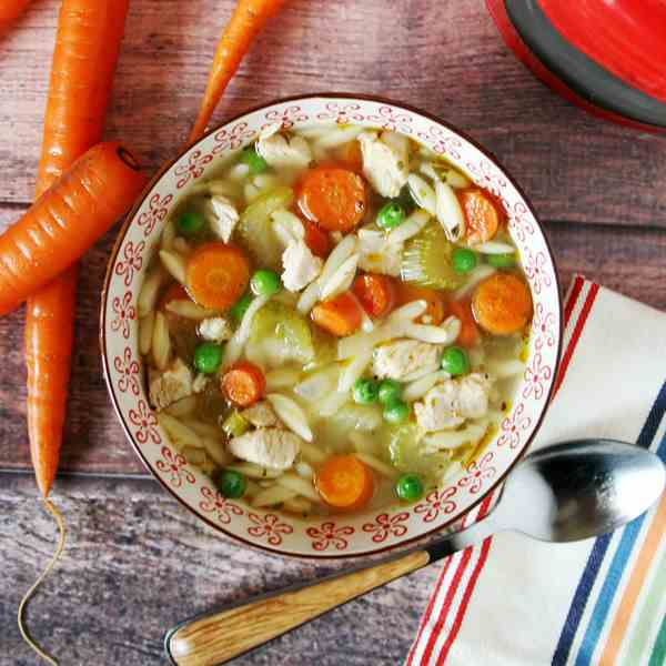 Chicken - Orzo Noodle Soup