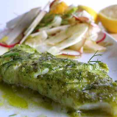 White Fish and Fennel Salad