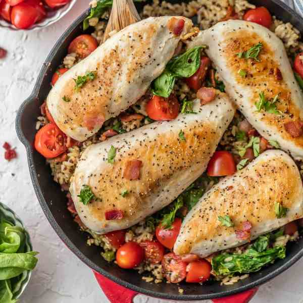 BLT Chicken - Rice