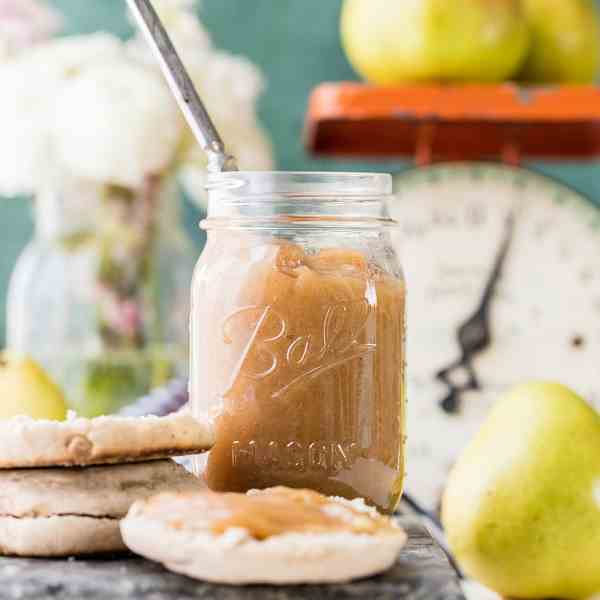 One Hour Pear Butter