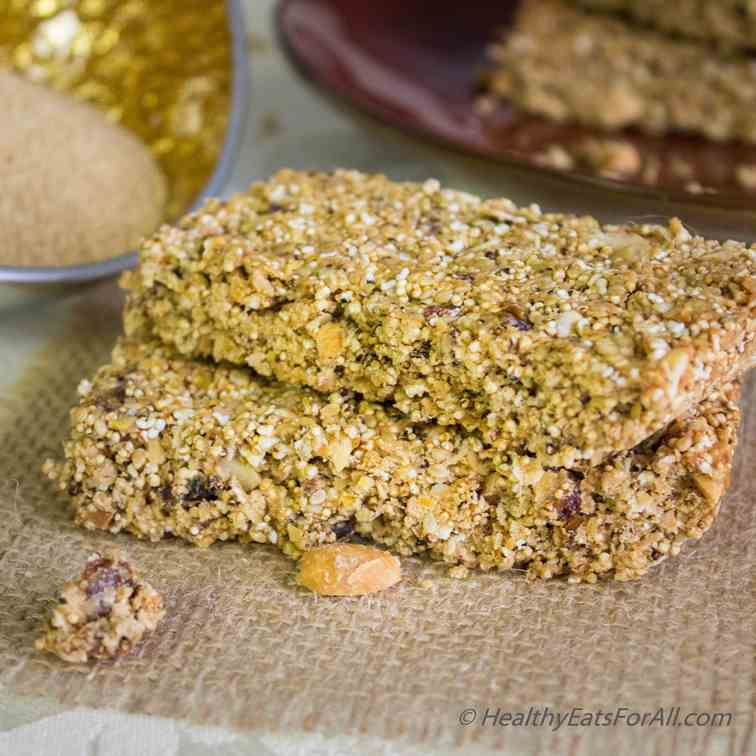 Amaranth Protein Bars