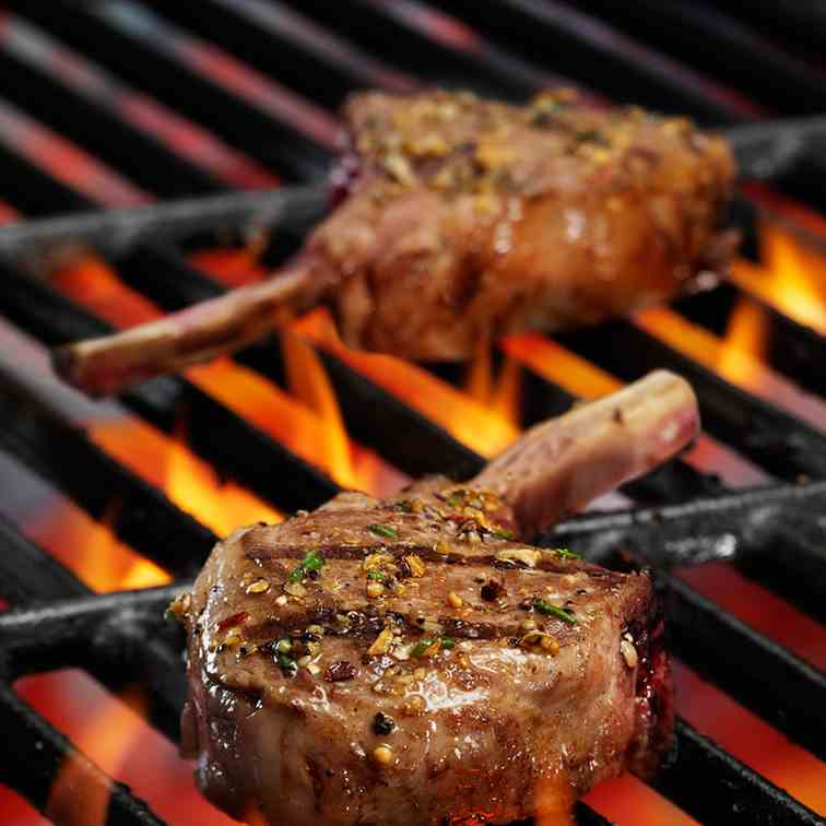 Fired-Up Grilled Lamb Chops