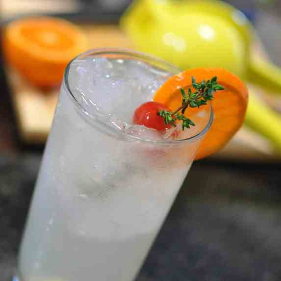 Honey Thyme Tom Collins