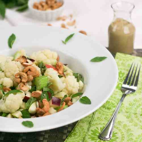 Cauliflower, Apple and Cashew Salad
